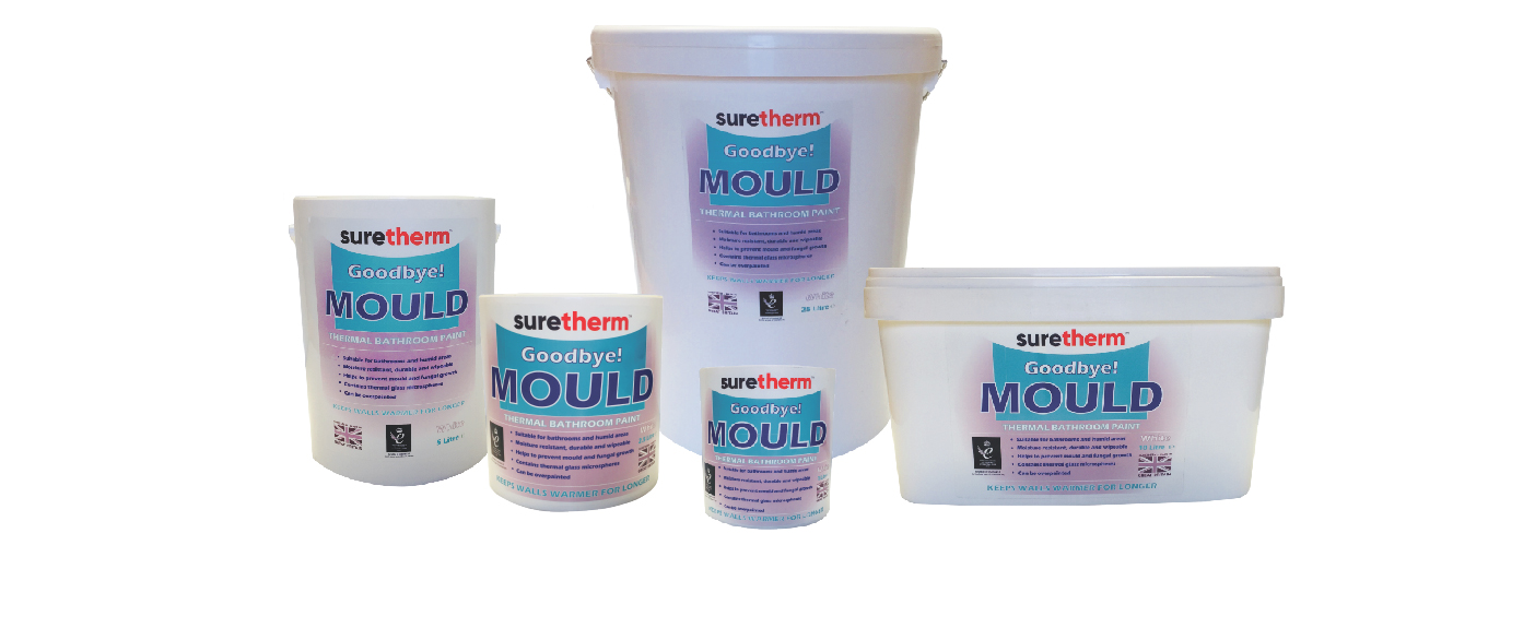Suretherm thermal bathroom paint
