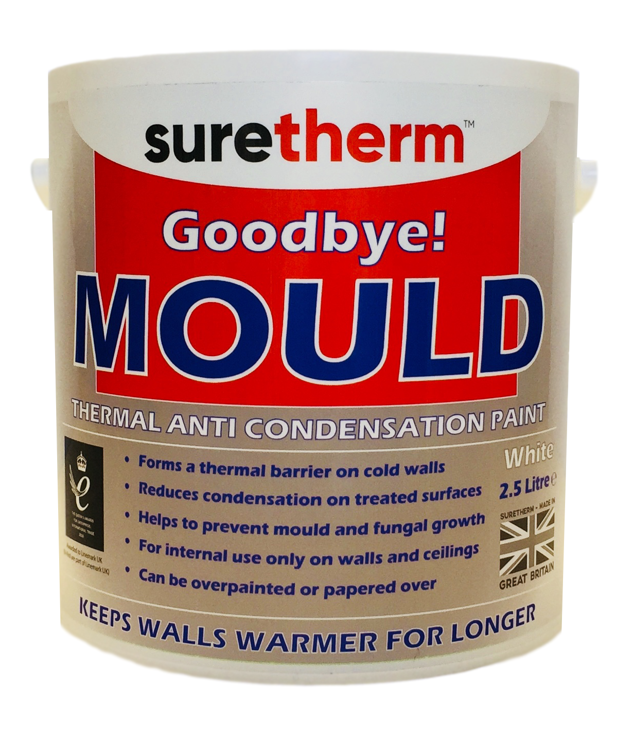 Suretherm Thermal Anti Condensation Paint 2.5 Litre