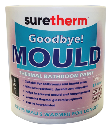 Suretherm Thermal Bathroom Paint 2.5 Litre