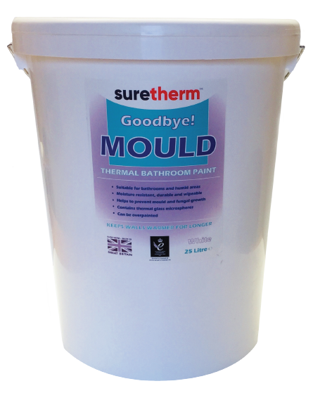 Suretherm Thermal Bathroom Paint 25 Litre